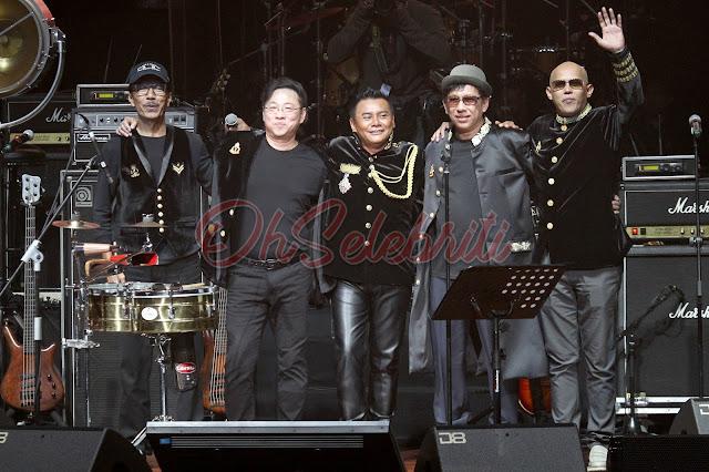 Konsert THE MUSICAL JOURNEY OF ZAINAL ABIDIN meraikan lebih 3 dekad dalam industri muzik . www.ohselebriti.com