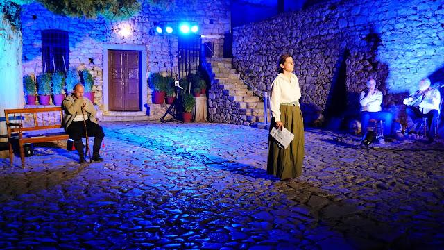 Εξαιρετική η παράσταση στο Παλαμήδι ''Το Ναύπλιο και οι φυλακές του ''