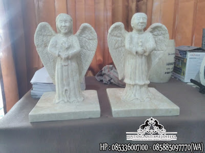 Jual Patung Malaikat Marmer, Patung Malaikat Untuk Kuburan, Patung Malaikat Bersayap