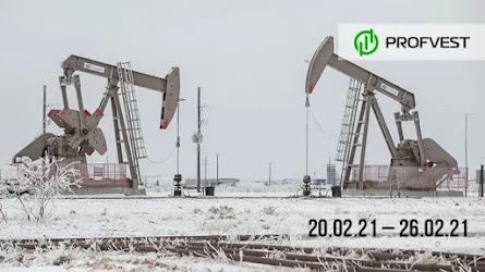 Важные новости из мира финансов и экономики за 20.02.21 - 26.02.21. Непогода в Техасе и рынок нефти