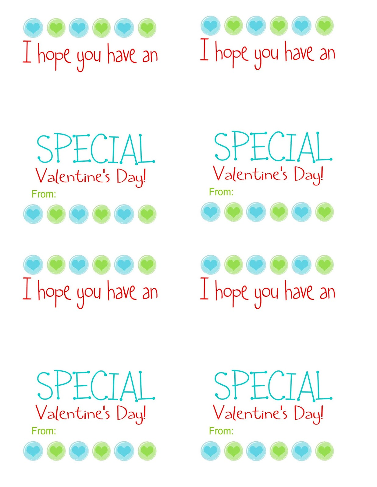 picture relating to Extra Gum Valentine Printable named Exceptional Spouse and children Favorites: Valentines Working day Handle Printables