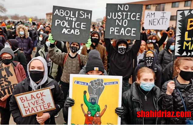 """usa news today : """"Send racist police officers to jail"""", protests in the United States"""