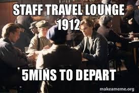 Titanic Travel Memes