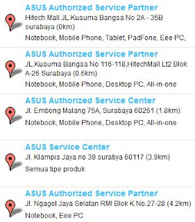 Service Center ASUS surabaya