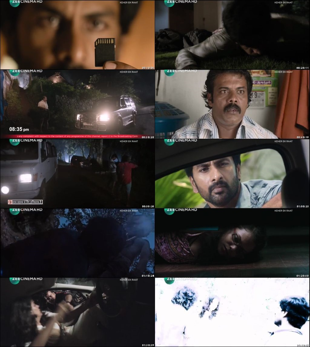 Screen Shot Of Kaher Ki Raat 2019 300MB Full Movie Hindi Dubbed Free Download 480P HDRip Small Size PC Movie