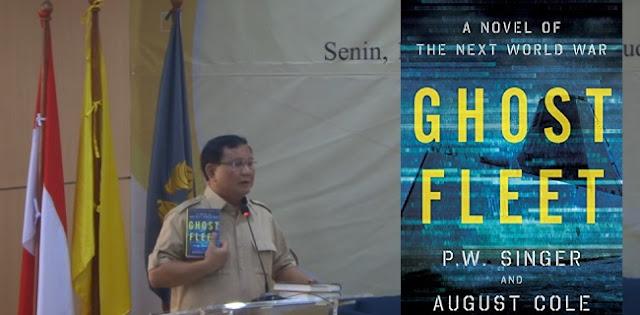 Gambaran World War III dalam Novel yang Pernah Dipamerkan Prabowo