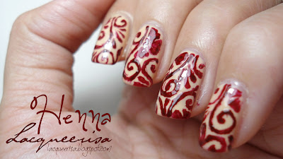 Lacqueerisa: Henna Nails