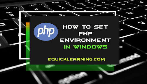 how-to-set-php-environment-in-hindi