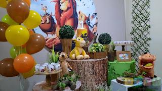Decoração de festa infantil O Rei Leão Porto Alegre