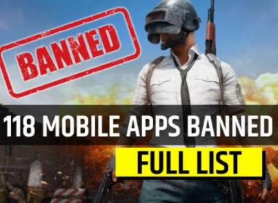 India Govt. Banned 118 more Apps Including Pubg | Pubg Banned in India
