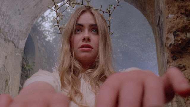 blonde lady horror movie