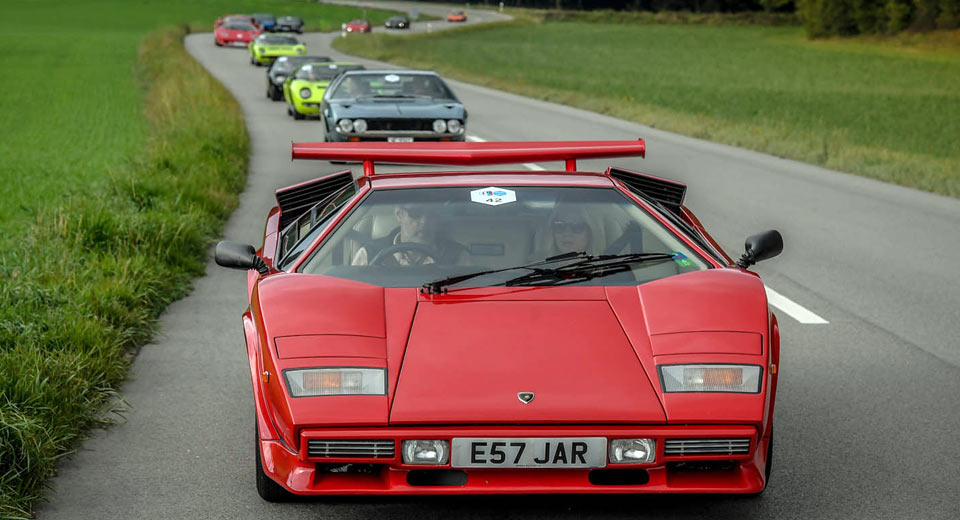 Raging Bulls Gather In Switzerland For First Lamborghini Concours d'Elegance [50 Photos + Video]