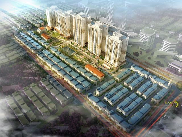 Toàn cảnh dự án The K Park Hà Đông