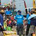 Sapa Warga Harno - Bayu Jalan Sehat Bareng Simpatisan Nelayan di Rembang
