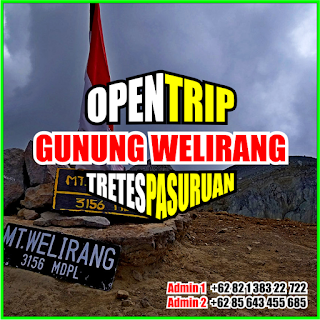 Open Trip Gunung Welirang 2021 Via Tretes Pasuruan 2H1M