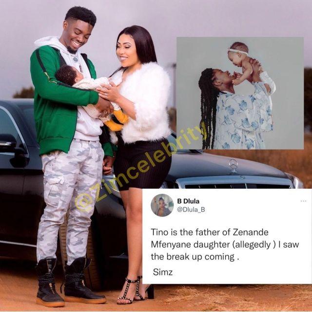 Zenande Mfenyana's daughter