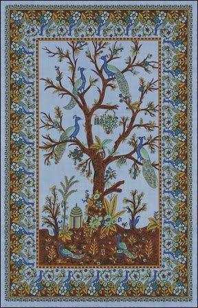 Contoh Tapestry : contoh, tapestry, Kerajinan, Tangan, Unik,, Tapestry, Ranting, Pohon, Ragam