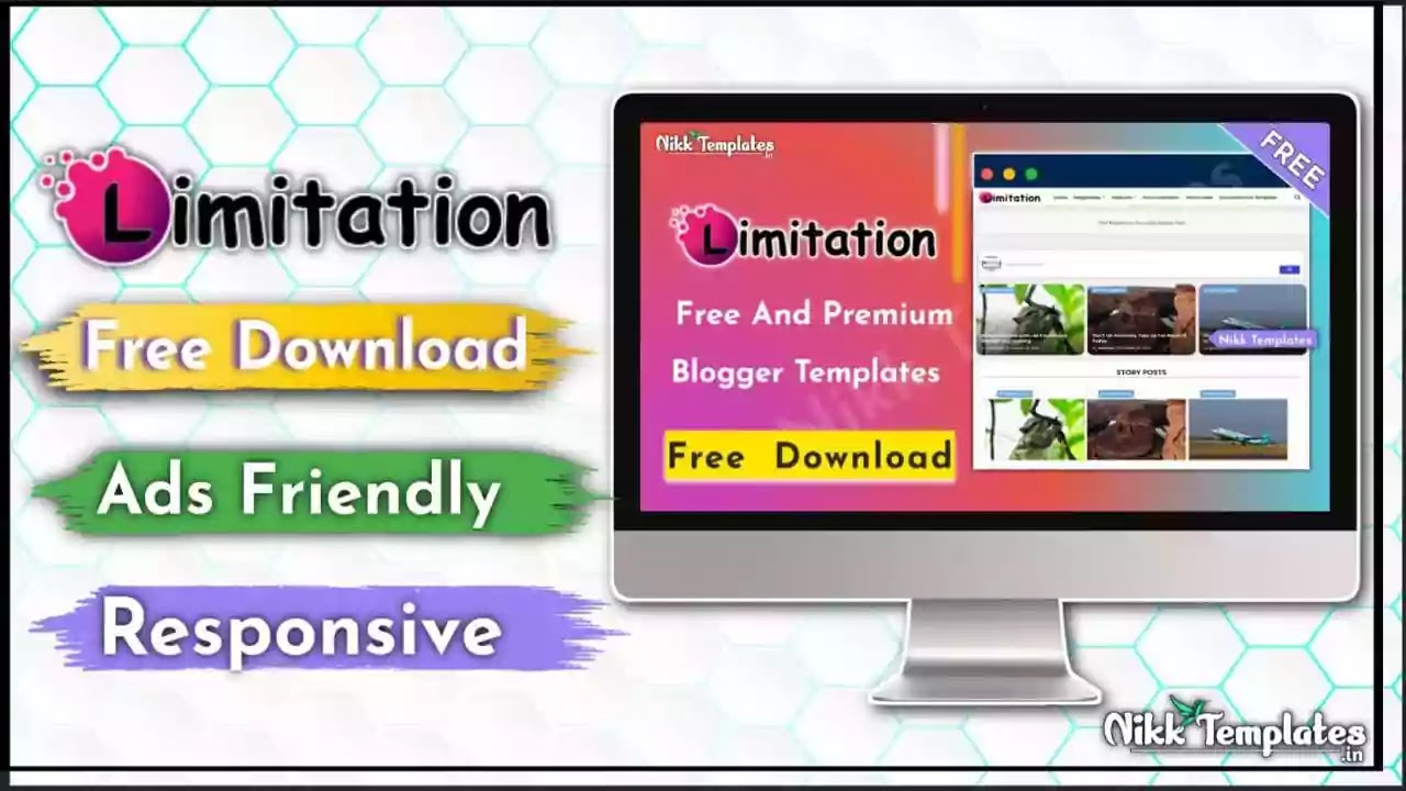 [Paid] Limitation - Responsive Blogger Template {Free Download}
