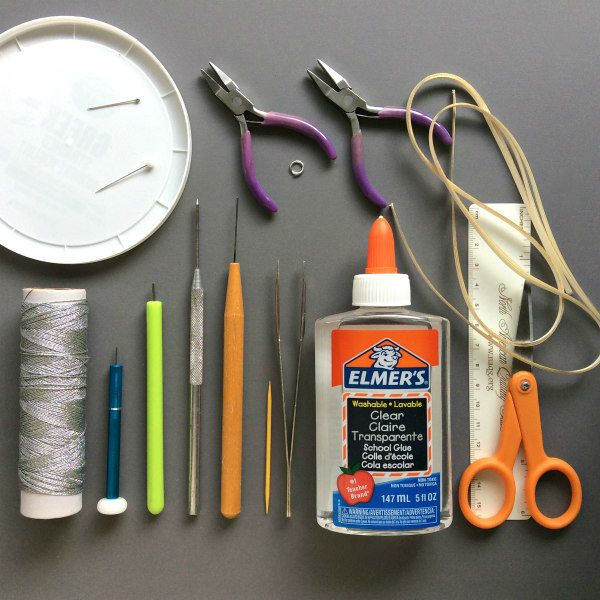 supplies for making quilled snowflakes