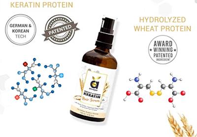 Anveya Protect & Repair Keratin Hair Serum to Make Your Hair Supple, Shiny and Healthy