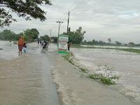 Tahun 2020 Ditutup dengan Banjir di Kecamatan Kepohbaru