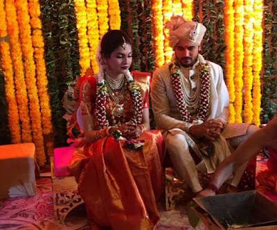 Manish Pandey Ashrita Shetty Marriage Photos