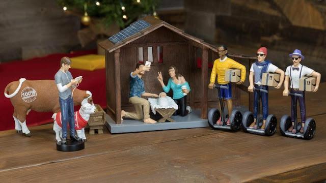 Si eres hipster, este es le set navideño ideal para ti