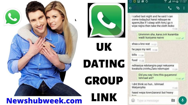Join 900+ UK dating Whatsapp group link