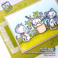 Stampin' Up! Pretty Kitty SU Card Idea order craft products from Mitosu Crafts UK Online Shop