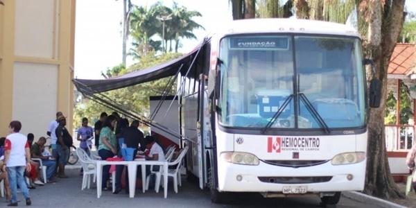 Ônibus do Hemocentro estará em Quissamã na próxima quinta-feira (23)