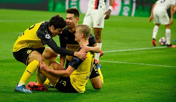 Dortmund 2-1 PSG: 2-goal Haaland overshadows Neymar as BVB gain advantage