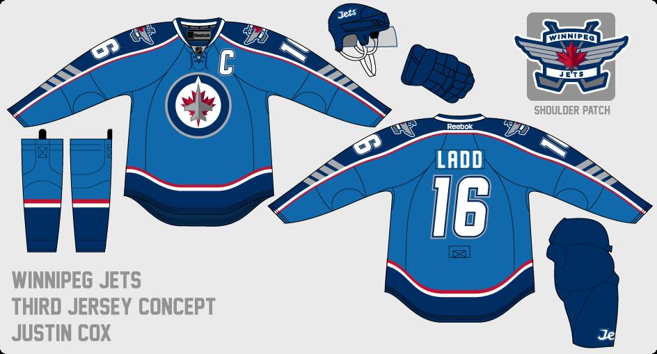 online store 6564c 4ee5c The Art of Hockey: Winnipeg Jets Third Jersey Option