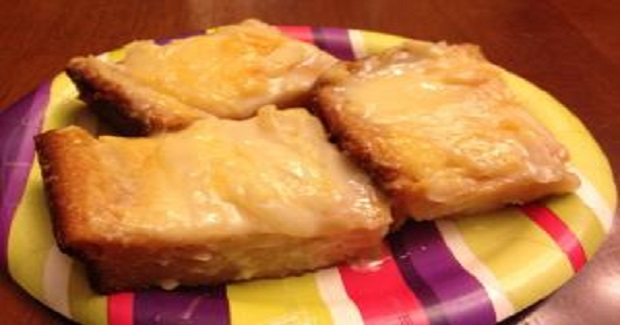 Cassava Cake With Macapuno Topping Recipe
