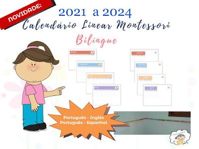 Calendário Montessori
