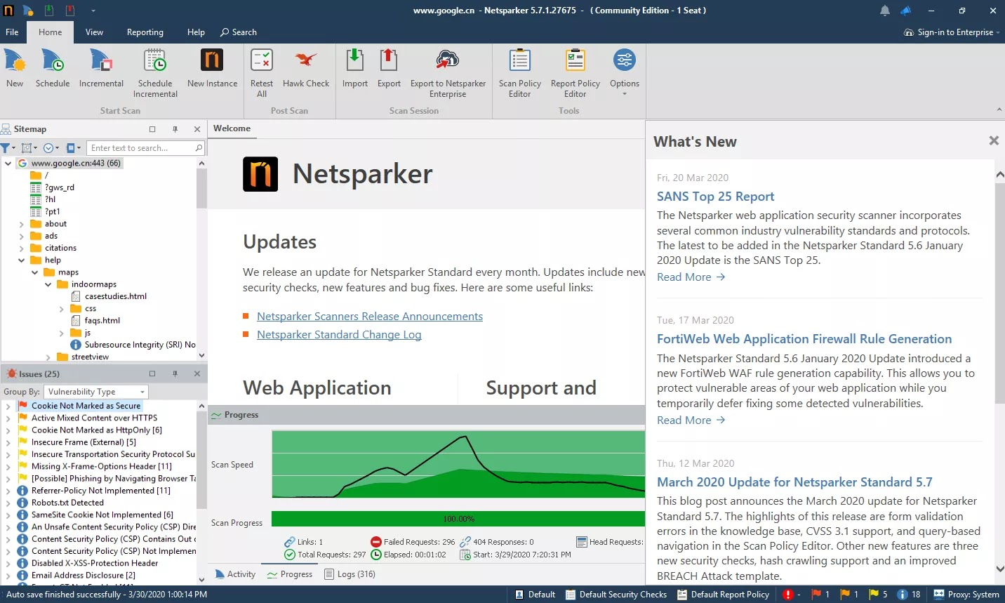 تحميل برنامج Netsparker Professional Edition 5.8.1.28119 ماسح ضوئي متقدم