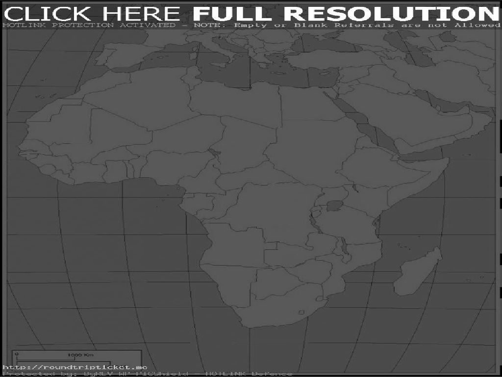 blank map of europe and africa