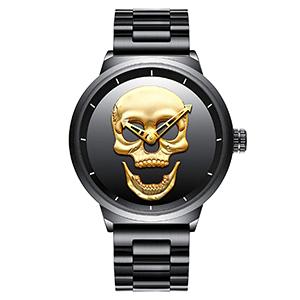 Horloges met doodshoofd