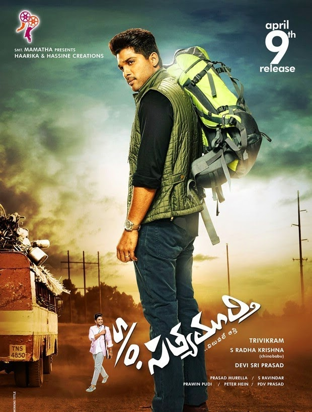 S/O Satyamurthy (2015) Download In Hindi 300MB Worldfree4u