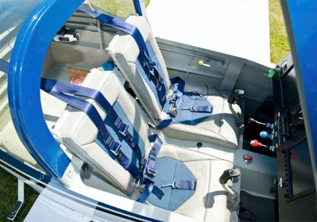 Vans RV-14 interior