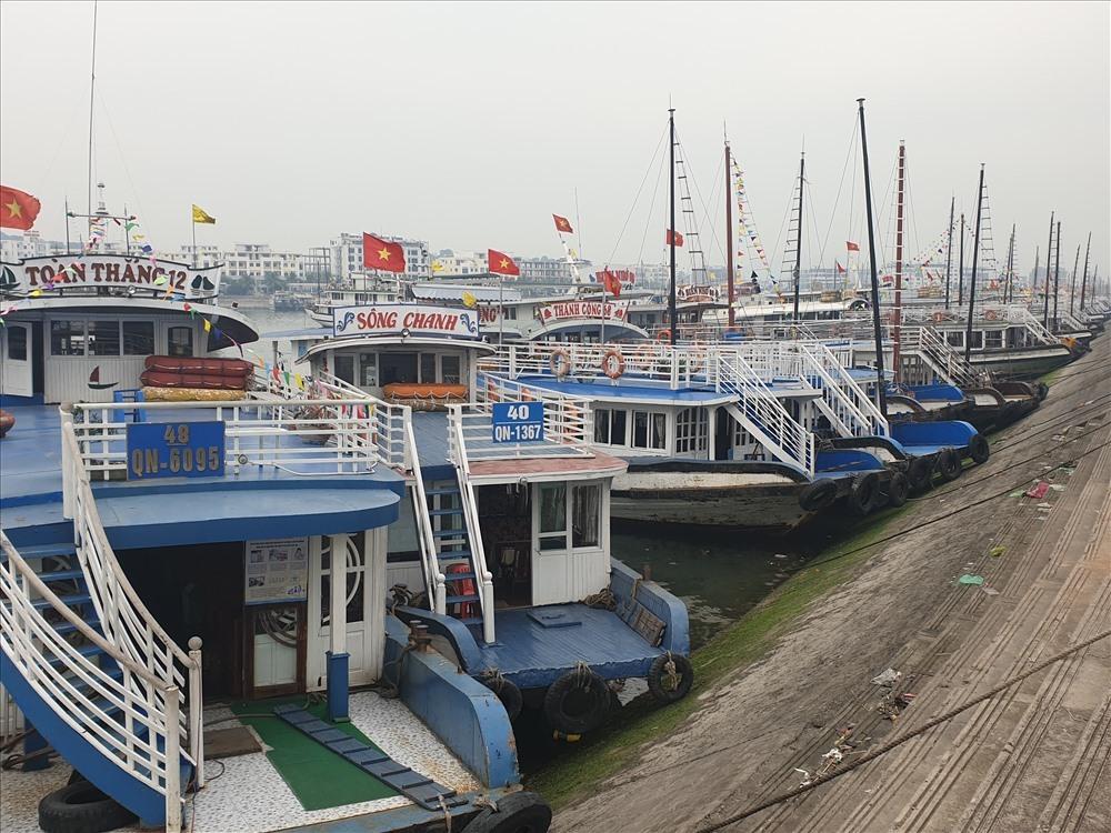 Экскурсионные суда в Бухте Халонг во Вьетнаме