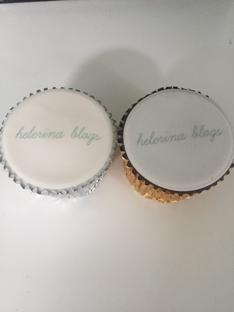 personalised cupcakes by Caketoppers