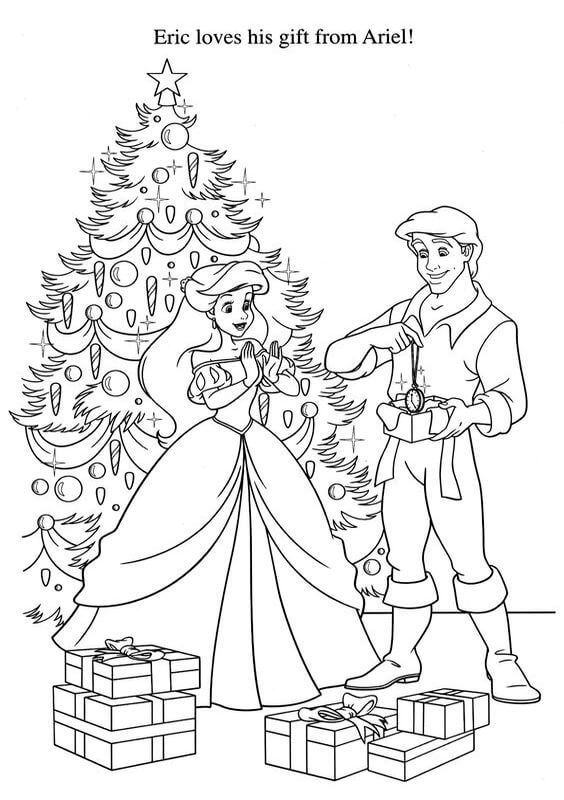 28 Free Printable Disney Christmas Coloring Pages World Of Makeup Rhmakeupandworldblogspot: Ariel Christmas Coloring Pages At Baymontmadison.com