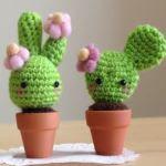 patron gratis cactus amigurumi | free amigurumi pattern cactus