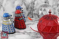Custom TV21 Red Dalek Leader 26