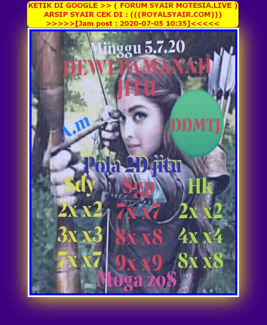 Kode syair Sydney Minggu 5 Juli 2020 55