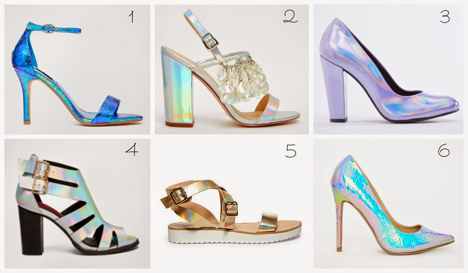 cc43443e80eb6 1) Dune Hydro Blue & Gold Metallic Barely There Heeled Sandals $125 asos.com