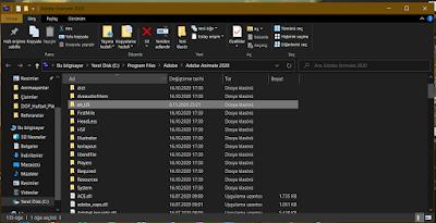 Adobe Animate Dil Değiştirme