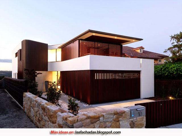 Colores para fachadas de casas feng shui fachadas de for Fachadas exteriores de casas modernas