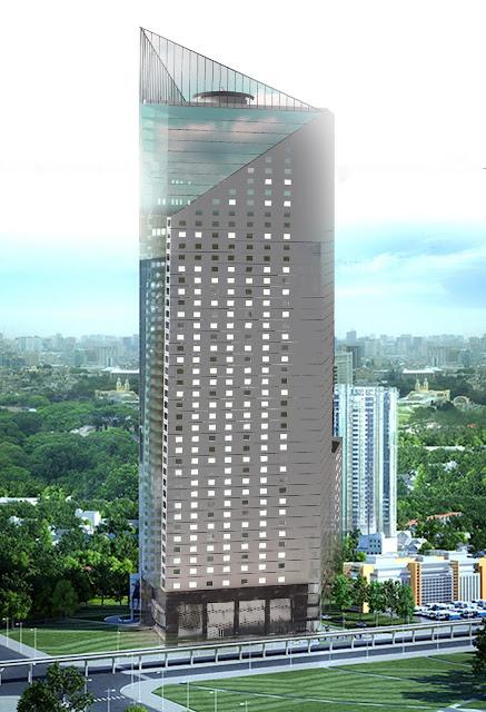 Phối cảnh tháp Doanh nhân