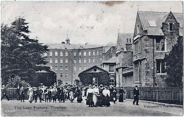 Postcard of Heathcoat's Factory c.1904